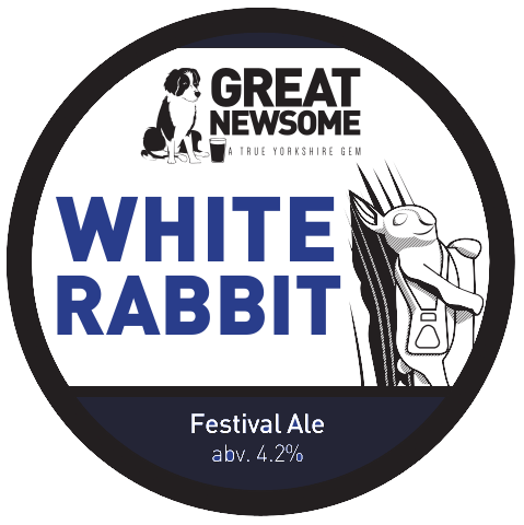 Beverley White Rabbit: Hoppy Golden Beer