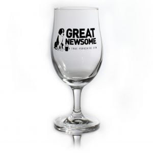 Great Newsome Brewery Stemmed Glass