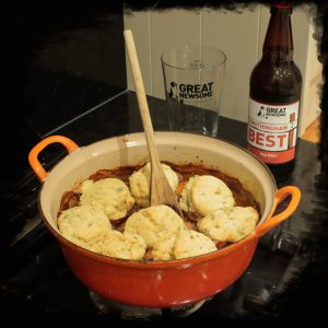 Beef Casserole with Frothingham Best
